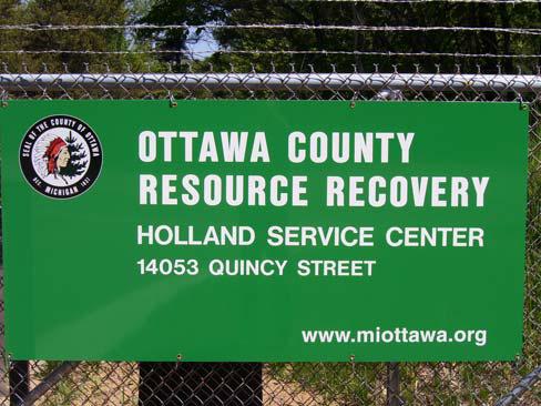Waste Management Disposal Ottawa County Michigan