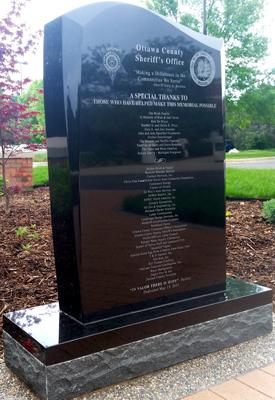 The Protector Monument - Ottawa County, Michigan