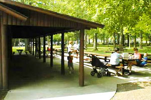 Hager Park Picnic Building Ottawa County Michigan