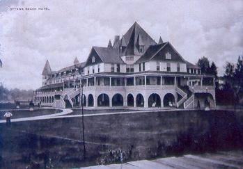 1923 : Ottawa Beach Hotel Burns