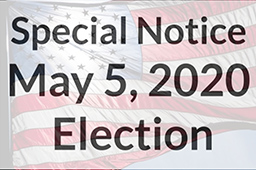 Special Notice for May Election